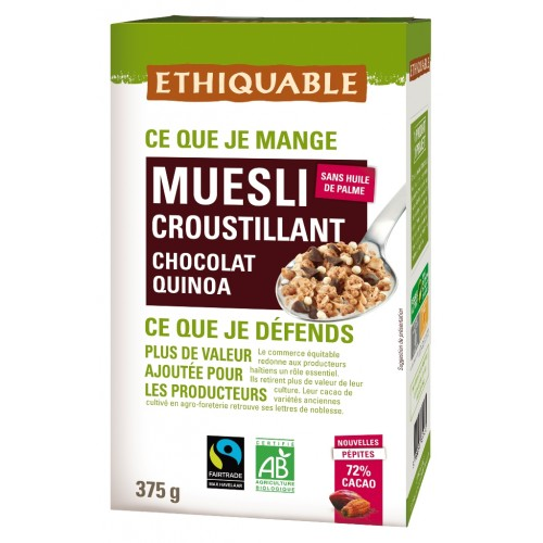 Muesli Chocolate y Quinoa